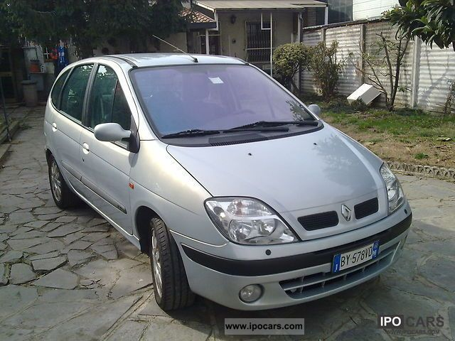 2002 Renault Scenic Car Photo And Specs