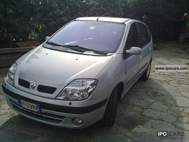 2002 renault scenic car photo and specs. Black Bedroom Furniture Sets. Home Design Ideas