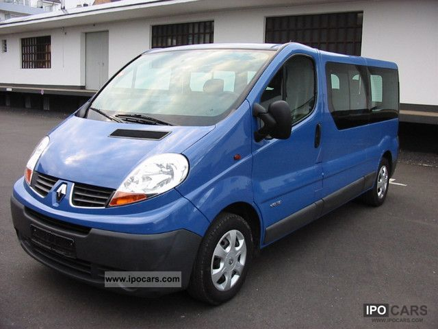 2007 renault trafic 2 0 dci 115 combi l2h1 car photo and. Black Bedroom Furniture Sets. Home Design Ideas