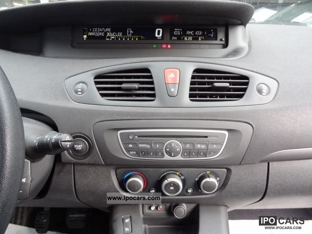 2009 renault scenic iii 1 5 dci 105 authentiqu e car photo and specs. Black Bedroom Furniture Sets. Home Design Ideas