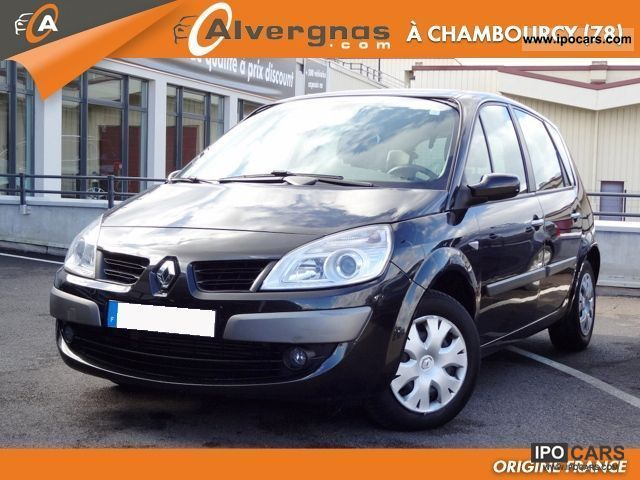 2008 renault scenic ii 2 1 5 dci 105 expression car photo and specs. Black Bedroom Furniture Sets. Home Design Ideas