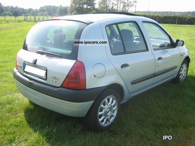 1998 renault clio 1 4 rxe car photo and specs. Black Bedroom Furniture Sets. Home Design Ideas
