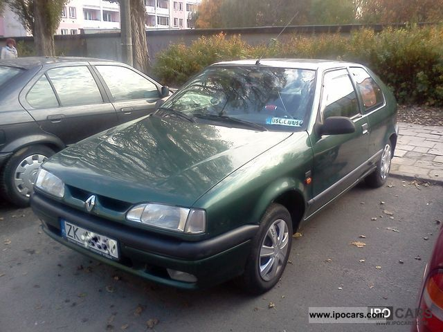 1995 renault 19 ben 1 8 rok prod 1995 airbag hak car photo and specs. Black Bedroom Furniture Sets. Home Design Ideas