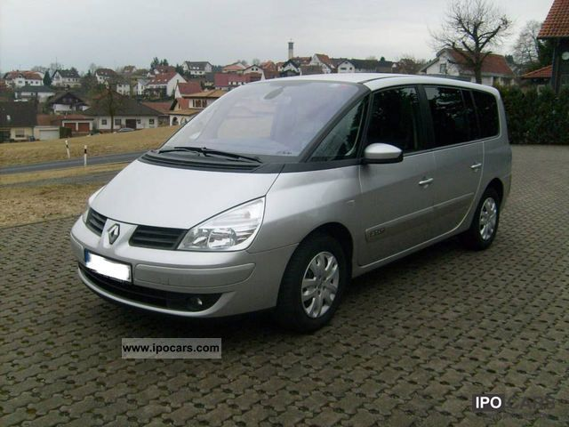 2008 renault grand espace 2 0 dci expression car photo and specs. Black Bedroom Furniture Sets. Home Design Ideas
