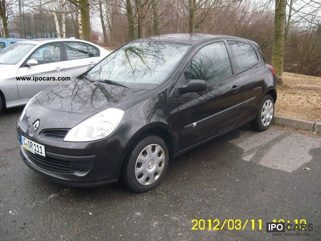 2007 renault clio 1 2 16v authentique car photo and specs. Black Bedroom Furniture Sets. Home Design Ideas