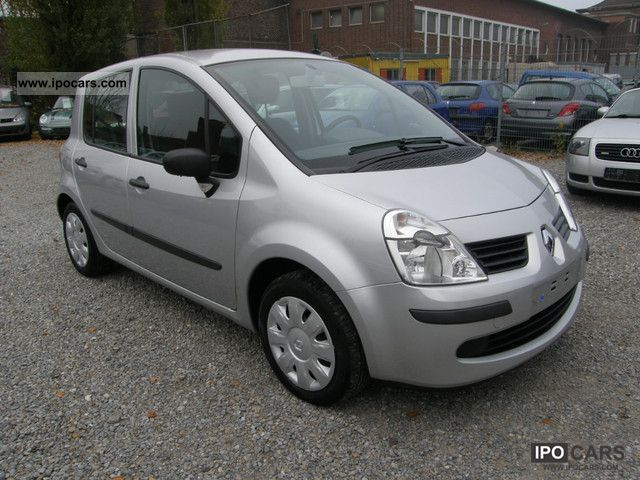 2007 renault modus 1 5 dci cite air car photo and specs. Black Bedroom Furniture Sets. Home Design Ideas