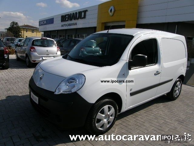Renault  Kangoo Pm 100% ZERO ELETTRICO EMISSIONI, autoca 2012 Electric Cars photo