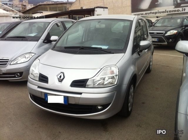 2009 renault grand modus 1 5 dci dynamique 85cv car photo and specs. Black Bedroom Furniture Sets. Home Design Ideas