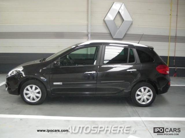 2010 Renault Clio Estate 15 Dynamique Dci85 Car Photo And Specs