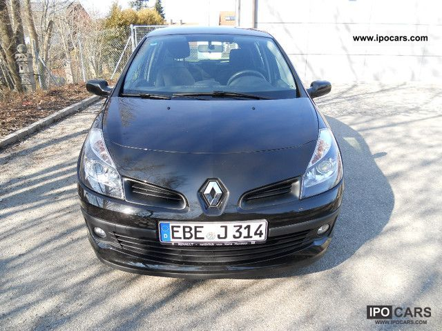 2007 renault clio 1 2 16v dynamique air edition car photo and specs. Black Bedroom Furniture Sets. Home Design Ideas