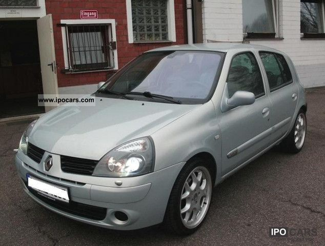 2004 Renault  Clio 1.6 16V XENON * Initial + LEATHER + +54 STANDH TKM * Small Car Used vehicle photo