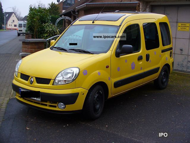 2004 renault kangoo 1 5 dci privilege car photo and specs. Black Bedroom Furniture Sets. Home Design Ideas