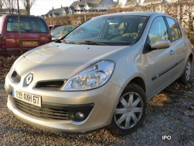 2007 renault clio iii 1 5 dci85 privilege 5p car photo and specs. Black Bedroom Furniture Sets. Home Design Ideas