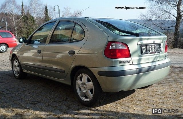 2000 Renault Megane 1 6 Rxe T 220 V Au New Car Photo And