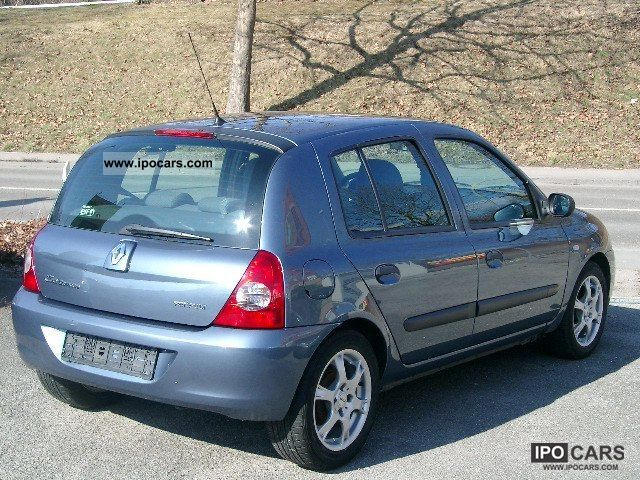 2007 renault clio 1 2 16v campus car photo and specs. Black Bedroom Furniture Sets. Home Design Ideas