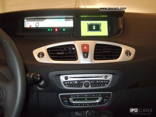 2011 renault scenic dci 130 1 6 start stop energy navigation car photo and specs. Black Bedroom Furniture Sets. Home Design Ideas
