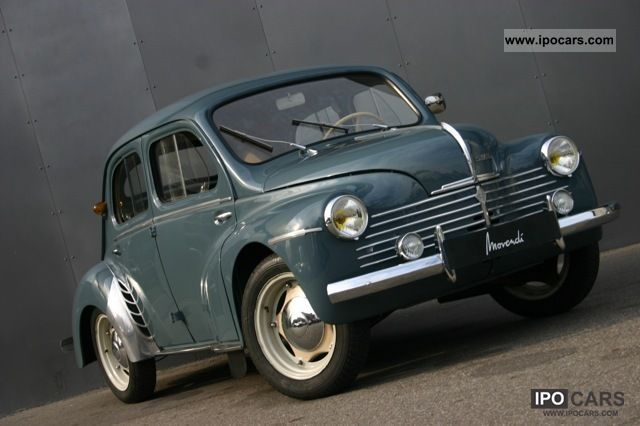 Renault  4 CV - R 1060 Grand Luxe variant 1949 Vintage, Classic and Old Cars photo