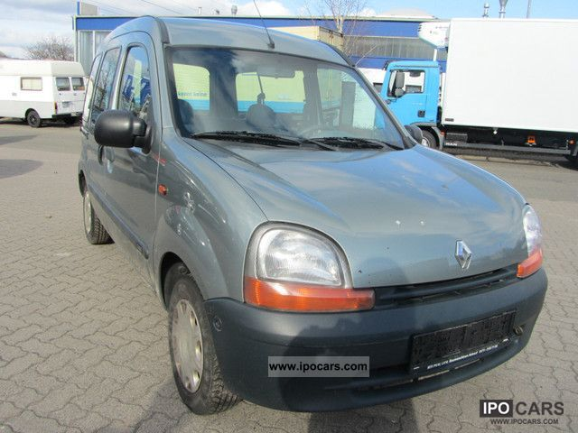 1998 renault kangoo 1 9 d rt car photo and specs. Black Bedroom Furniture Sets. Home Design Ideas