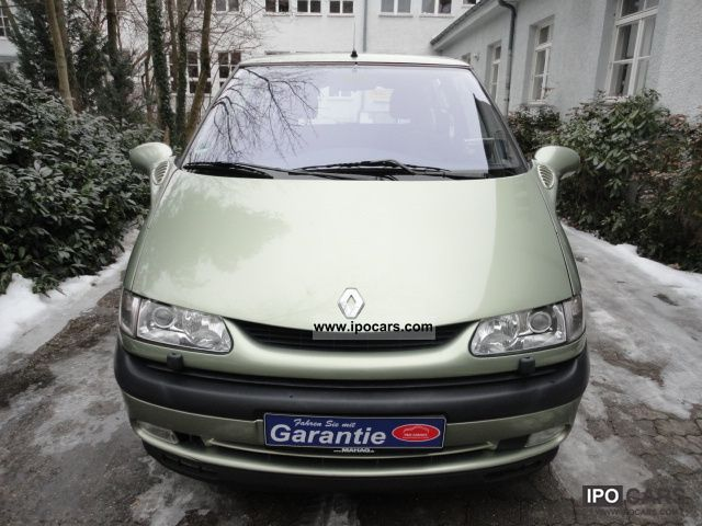 2001 renault espace 2 0 16v je related infomation specifications weili automotive network. Black Bedroom Furniture Sets. Home Design Ideas