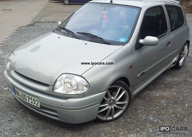 2000 renault clio 1 6 16v initial car photo and specs. Black Bedroom Furniture Sets. Home Design Ideas