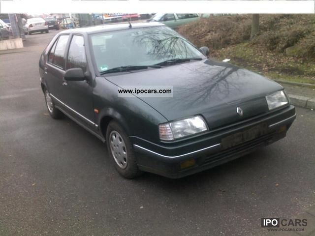 1991 Renault  1.Hand Only 80.000 km 1.8 liters Limousine Used vehicle photo