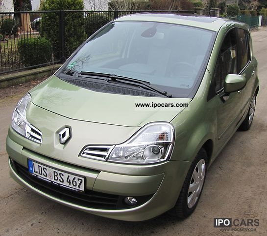 2008 renault grand modus 1 6 16v dynamique auto car photo and specs. Black Bedroom Furniture Sets. Home Design Ideas
