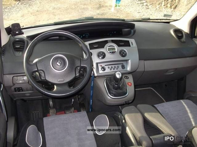 2006 Renault Scenic 1 5 Dci Lift Car Photo And Specs