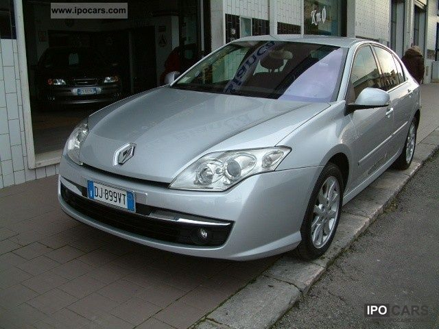 2007 Renault  Laguna 2.0 dCi 150CV Tecno Plus Dynam. Limousine Used vehicle photo