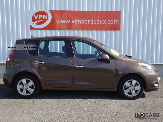2010 renault scenic iii 1 5 dci105 dynamique car photo and specs. Black Bedroom Furniture Sets. Home Design Ideas