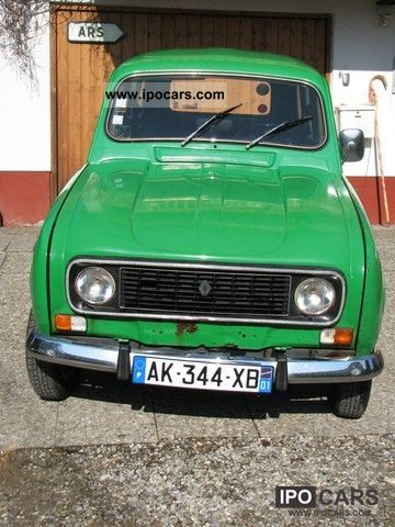 Renault  4 Type R 1126 R 1976 Vintage, Classic and Old Cars photo