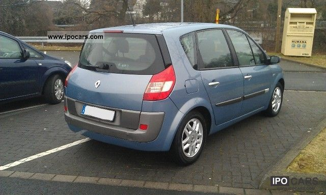 2006 renault scenic 2 0 16v aut exception car photo and specs. Black Bedroom Furniture Sets. Home Design Ideas