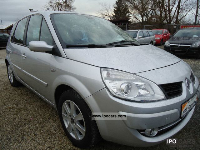 2006 renault scenic 2 0 16v exception car photo and specs. Black Bedroom Furniture Sets. Home Design Ideas