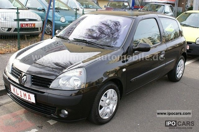 2004 renault clio 1 4 16v dynamique luxe climate control car photo and specs. Black Bedroom Furniture Sets. Home Design Ideas