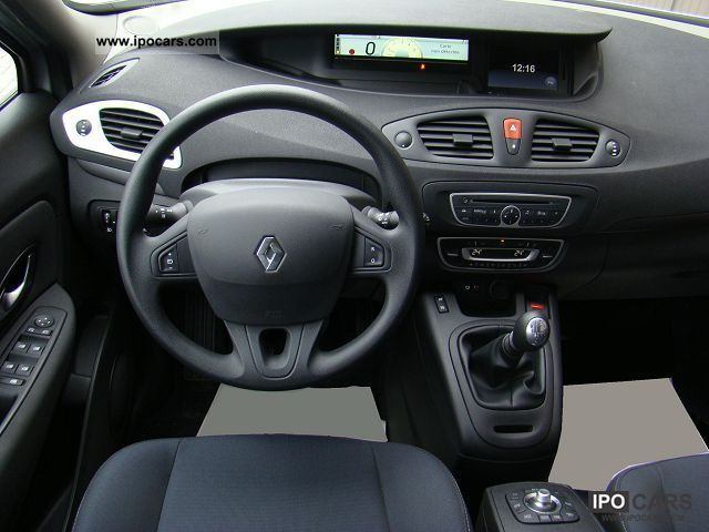 2010 renault scenic iii 1 5 expression dci105 car photo and specs