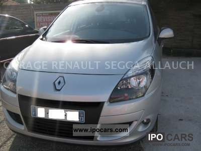 2010 renault scenic iii dynamique dci 110 fap euro 5 eco2 car photo and specs. Black Bedroom Furniture Sets. Home Design Ideas