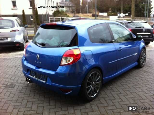 2010 renault clio 1 6 16v 130 gt car photo and specs. Black Bedroom Furniture Sets. Home Design Ideas