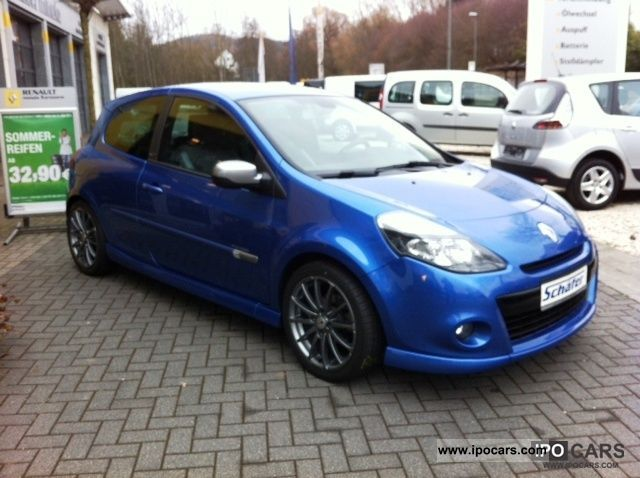 2010 Renault Clio 1.6 16V 130 GT - Car Photo and Specs
