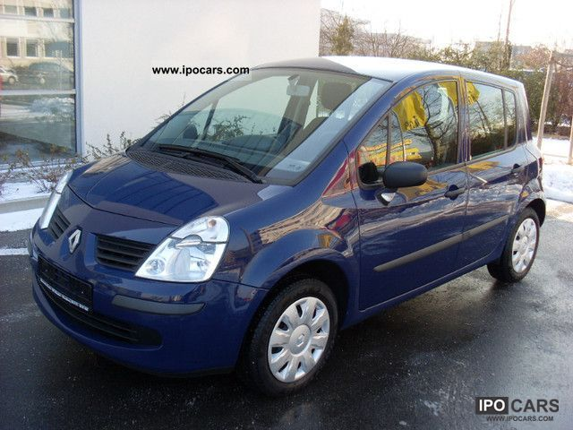 2007 renault modus 1 5 dci avantage climate euro 4 car photo and specs. Black Bedroom Furniture Sets. Home Design Ideas