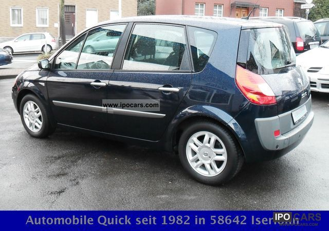 2008 renault scenic 1 9 dci fap exception navi xenon 1 hand car photo and specs. Black Bedroom Furniture Sets. Home Design Ideas
