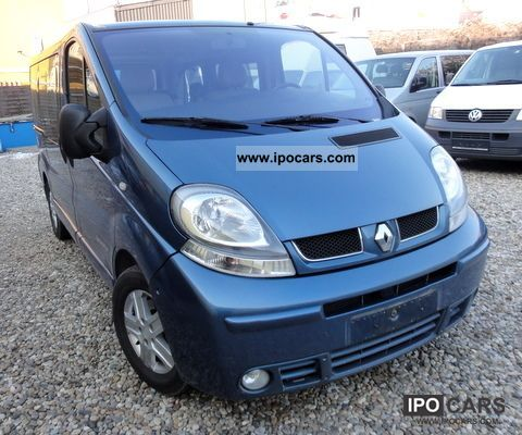 2005 renault trafic 2 5 dci westfalia generation 45tkm car photo and specs. Black Bedroom Furniture Sets. Home Design Ideas