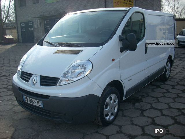 2011 renault traffic van commercial vehicles. Black Bedroom Furniture Sets. Home Design Ideas