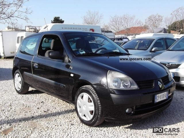 2004 renault clio 1500 dci expression car photo and specs. Black Bedroom Furniture Sets. Home Design Ideas