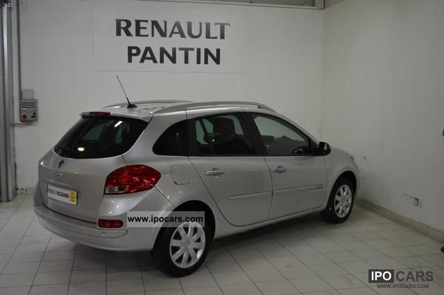 2010 Renault Clio III DCI 85 ECO2 DYNAMIQUE ESTATE TO