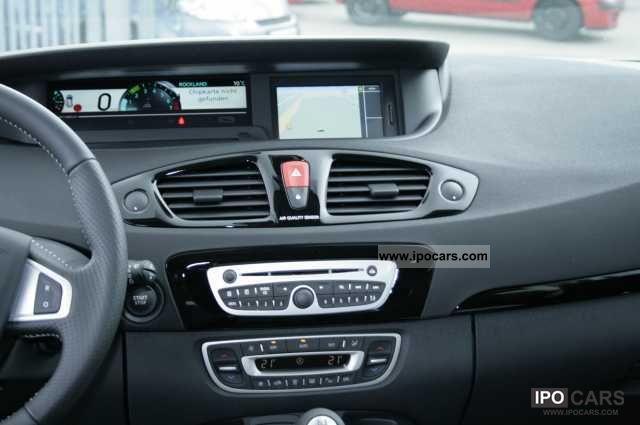 2012 Renault Scenic Bose Editiontce 130 Camera Car