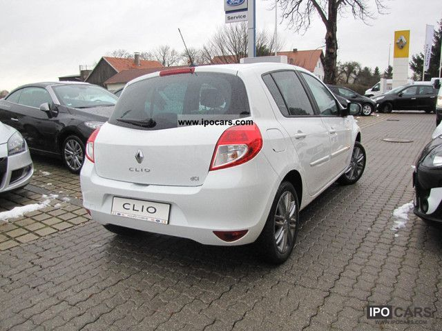 2012 renault clio dci 105 eco navigation night day car photo and specs. Black Bedroom Furniture Sets. Home Design Ideas