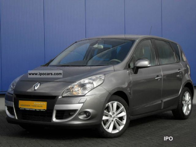 2010 renault scenic dci 130 luxe xenon back up camera car photo and specs. Black Bedroom Furniture Sets. Home Design Ideas