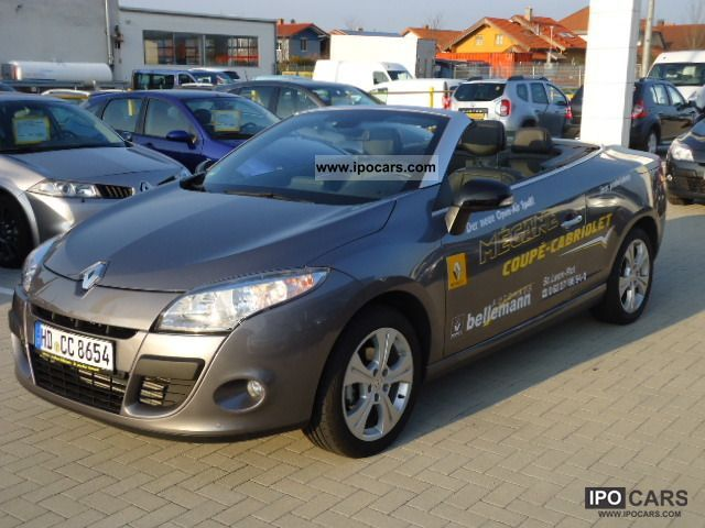 renault megane convertible owners manual