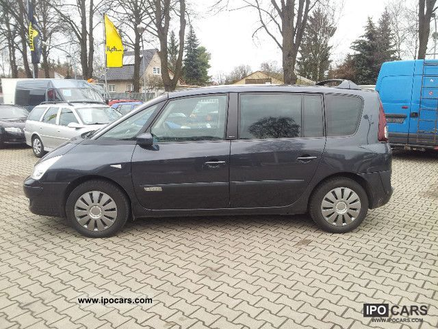 2007 renault espace 2 0 dci tech overhauled engine run again car photo and specs. Black Bedroom Furniture Sets. Home Design Ideas
