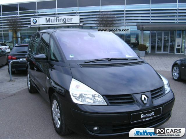 2007 Renault  ESPACE EXPRESSION 2.0 D climate control Van / Minibus Used vehicle photo