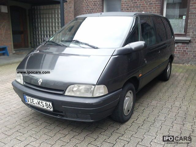 1994 renault espace rxe climate car photo and specs. Black Bedroom Furniture Sets. Home Design Ideas